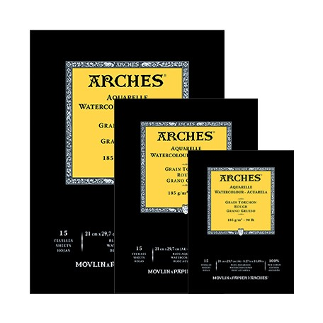 Blok akwarelowy Arches Rough