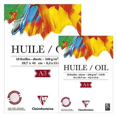 papier do farb olejnych