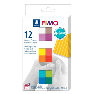 fimo soft brilliant set
