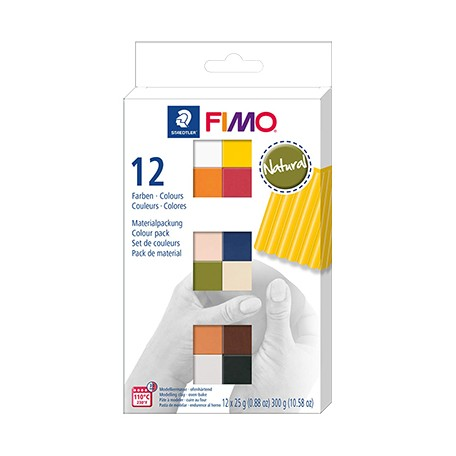fimo soft natural set