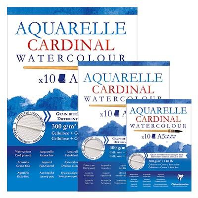 cardinal blok akwarelowy clairefontaine