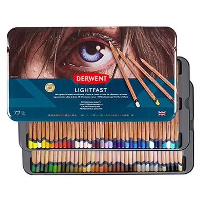 Kredki Derwent Lightfast, 72 kolory
