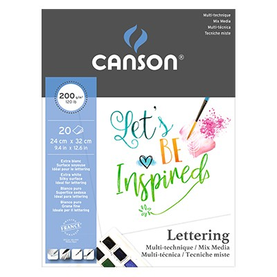 Canson Lettering Mix Media