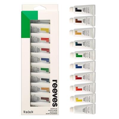 Farby akrylowe zestaw Reeves