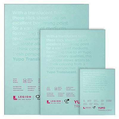 Blok Yupo Translucent 12,7 x 17,8 cm, 153 g, 15 ark.