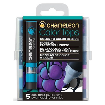 Cool Tones, Color Tops Chameleon, 5 kol.