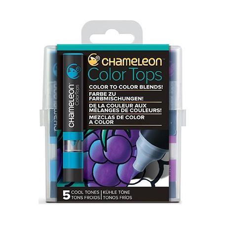 cool tones color tops