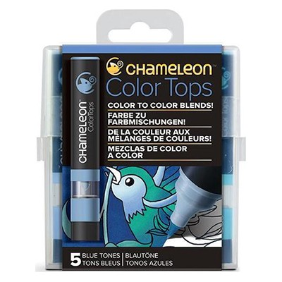 Blue Tones, Color Tops Chameleon, 5 kol.