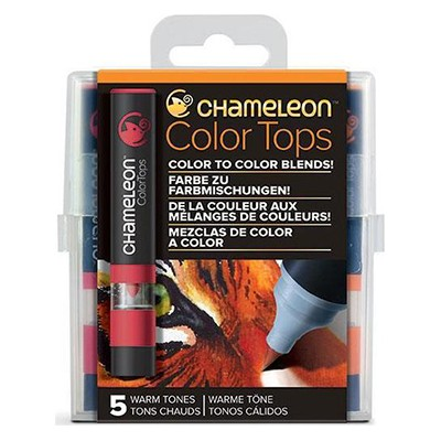 Warm Tones, Color Tops Chameleon, 5 kol.
