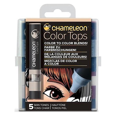 Skin Tones, Color Tops Chameleon, 5 kol.