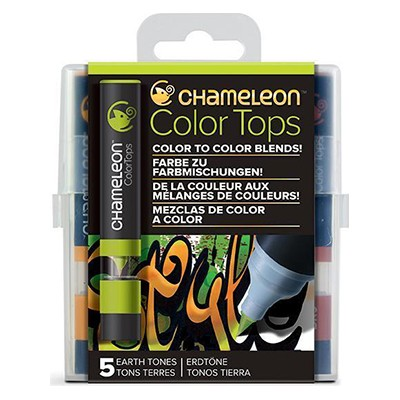 Earth Tones, Color Tops Chameleon, 5 kol.