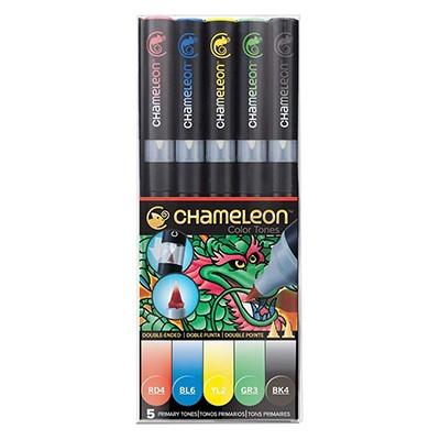 Primary set, zestaw markerów tonalnych Chameleon, 5 szt