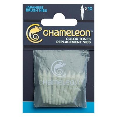 Brush nibs, wymienne końcówki do komory z bazą, Chameleon,10szt.