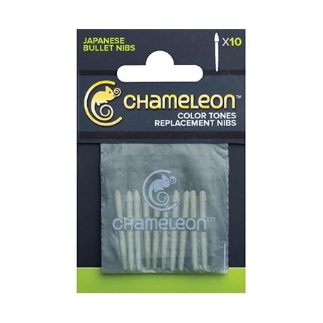 Bullet nibs chameleon
