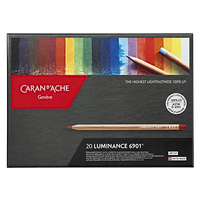 Kredki rysunkowe Luminance 6901, Caran d'Ache, 20 kolorów