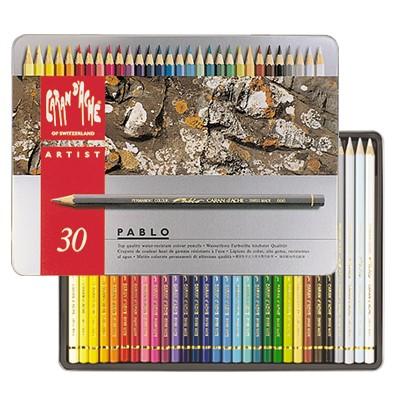 Kredki Pablo, Caran d'Ache, 30 kolorów