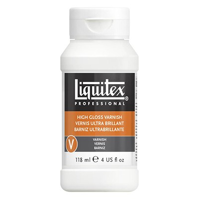 Werniks błyszczący - high gloss do farb akrylowych, Liquitex 118