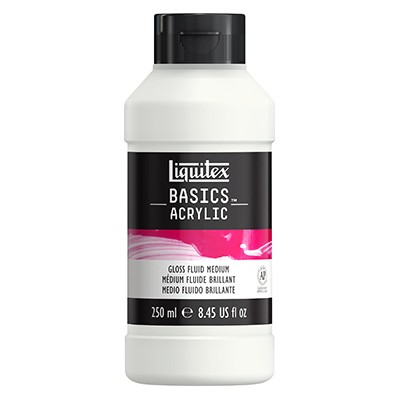 gloss fluid medium liquitex