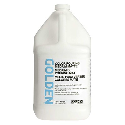 Color Pouring Medium Matte, Golden 3,78 l