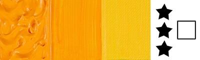 543 Cad. yellow deep hue, farba akrylowa Abstract Sennelier 120m
