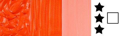 615 Cad. red orange hue, farba akrylowa Abstract Sennelier 120ml