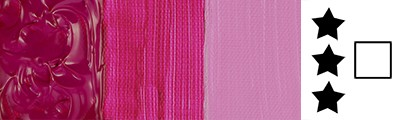 671 Deep magenta, farba akrylowa Abstract Sennelier 120ml
