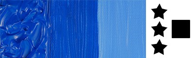 303 Cobalt blue hue, farba akrylowa Abstract Sennelier 120ml