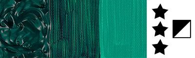 896 Phthalo green, farba akrylowa Abstract Sennelier 500ml