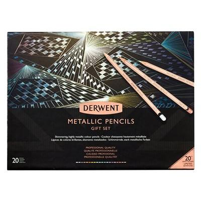 Kredki rysunkowe Metallic, Derwent 20 kol.