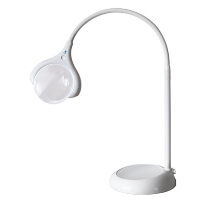 Lampa z lupą LED podłogowo-stołowa, Daylight