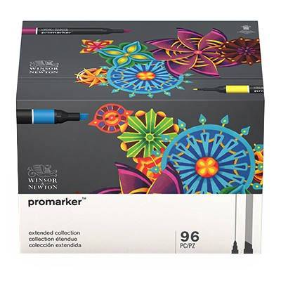 Extended Collection, zestaw Promarker, 96 kolorów