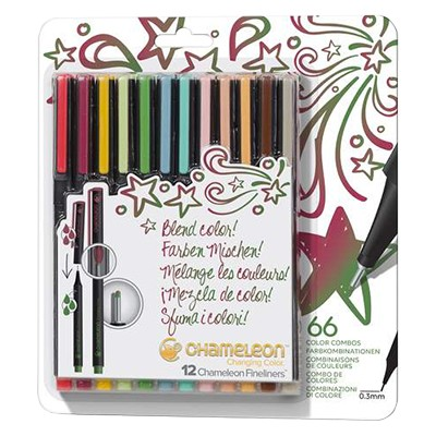 designer colors chameleon fineliner