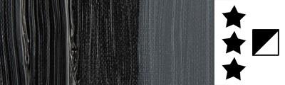 702 S1 Lamp black, farba olejna Van Gogh 40 ml