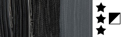 702 S1 Lamp black, farba olejna Van Gogh 200 ml