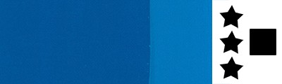 400 Cyan primary blue, farba akrylowa Polycolor 500ml