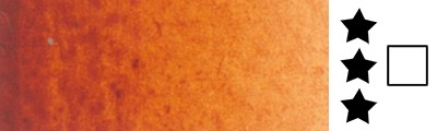 645 Chinese orange, farba akwarelowa L'Aquarelle, półkostka