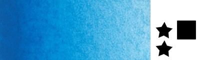 344 Cinereous blue, farba akwarelowa L'Aquarelle, półkostka