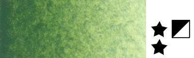 819 Sap green, farba akwarelowa L'Aquarelle, półkostka