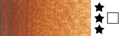 211 Burnt sienna, farba akwarelowa L'Aquarelle, półkostka