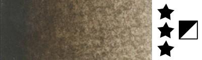 440 Warm sepia, farba akwarelowa L'Aquarelle, półkostka