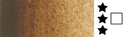 202 Burnt umber, farba akwarelowa L'Aquarelle, półkostka