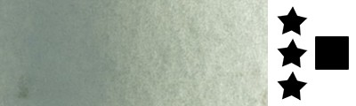 709 Sennelier grey, farba akwarelowa L'Aquarelle, półkostka