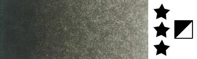 443 Raw sepia, farba akwarelowa L'Aquarelle, półkostka