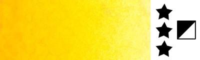 579 Sennelier yellow deep, farba akwarelowa L'Aquarelle, półkostka