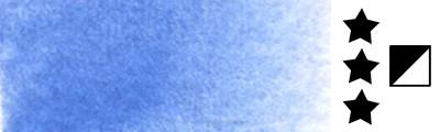 Aquarius 407 Cobalt Cerulean Blue, akwarela Szmal