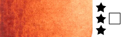 Aquarius 349 Quinacridone Burnt Sienna, akwarela Szmal