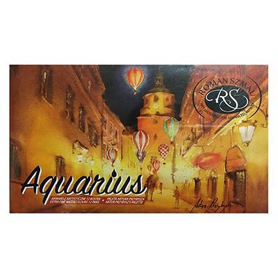 Akwarele Aquarius zestaw 12 kol. Artur Przybysz, Szmal