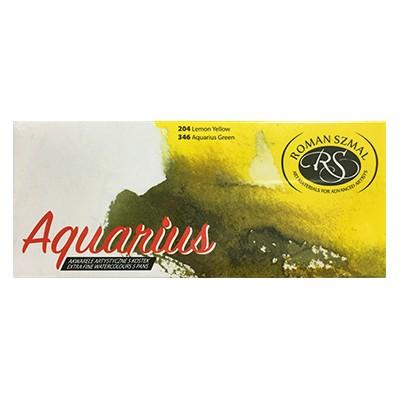 Akwarele Aquarius zestaw 5 kolorów, Szmal Art