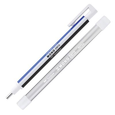 Gumka w długopisie + wkłady, Mono Zero okrągła, Tombow