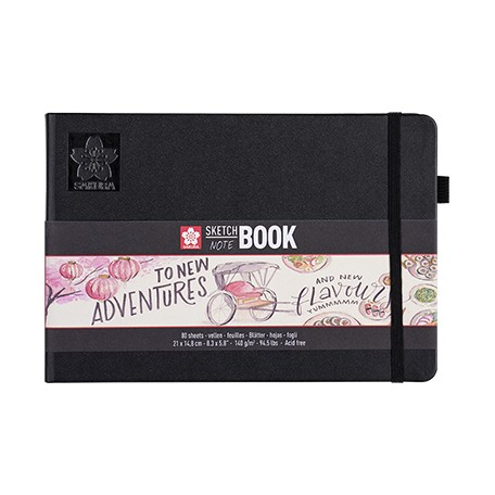 sketch note book sakura